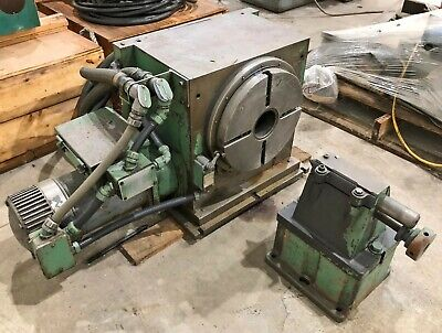 Monarch Cortland 360k-12 4th Axis 12 Diameter Nc Rotary Table W Tailstock