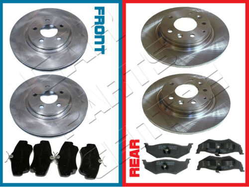 FOR CHRYSLER PT CRUISER 2.0 2.2 CRD 2.4 FRONT and REAR BRAKE DISC DISCS PAD PADS