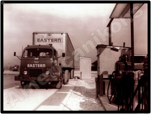 White 3000 Trucks New Metal Sign: Eastern Freight Truck & Trailer Pictured