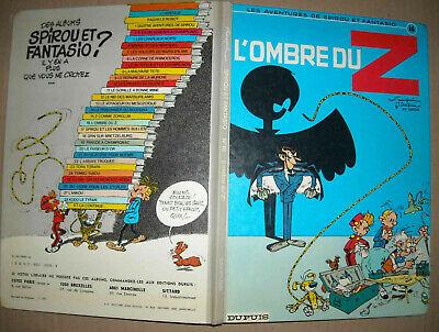 BD L'ombre du Z dans Spirou Dupuis Franquin