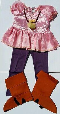 Disney Izzy Jake And The Neverland Pirates Costume Size 4 5 6 Halloween Girls