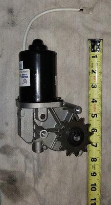 Broad Ocean 24v Dc Motor And Sprocket Bench Tested