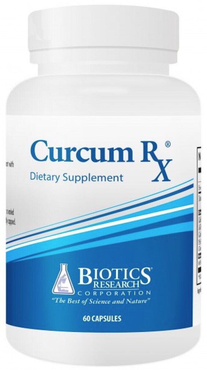 Biotics Research - CurcumRX 60 Capsules (Curcum RX) Curcumin Turmeric