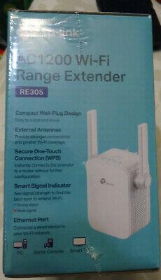 TP-LINK AC1200 Wi-Fi Range Extender Model # RE305
