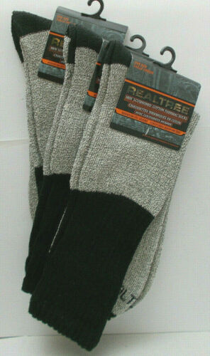 3X Realtree Thermal Socks Cushioned Cotton Reinforced Seams One-Size
