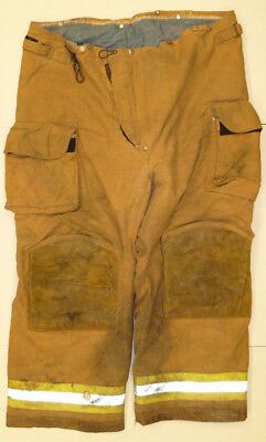 46r Pants Firefighter Turnout Bunker Fire Gear W Liner Janesville Lion P820