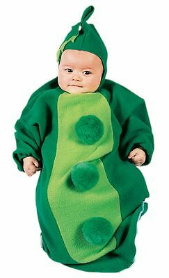 Peas In Pod Peapod Jolly Green Giant BABY HALLOWEEN COSTUME 0-9 Months MINI WEAR