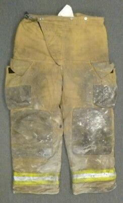 42x30 Globe Tan Firefighter Pants Turnout Bunker Fire Gear P036