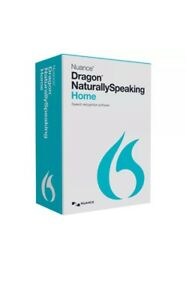 BRAND NEW NUANCE Dragon Naturally Speaking Home 13 CD Licence:Full edition