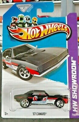 Hot Wheels 67' Camaro Summit Racing HW Showroom / Tampo Error