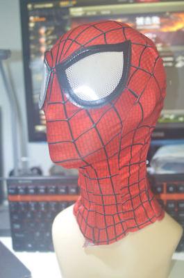 US tunning Amazing Spider-Man 2 Mask 3D Digital Printing Red Hood Spiderman Prop - Spiderman Masks