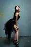 Women Half Bustle Tulle Tutu Skirt Burlesque Petticoat Clubwear Rave Party Dress
