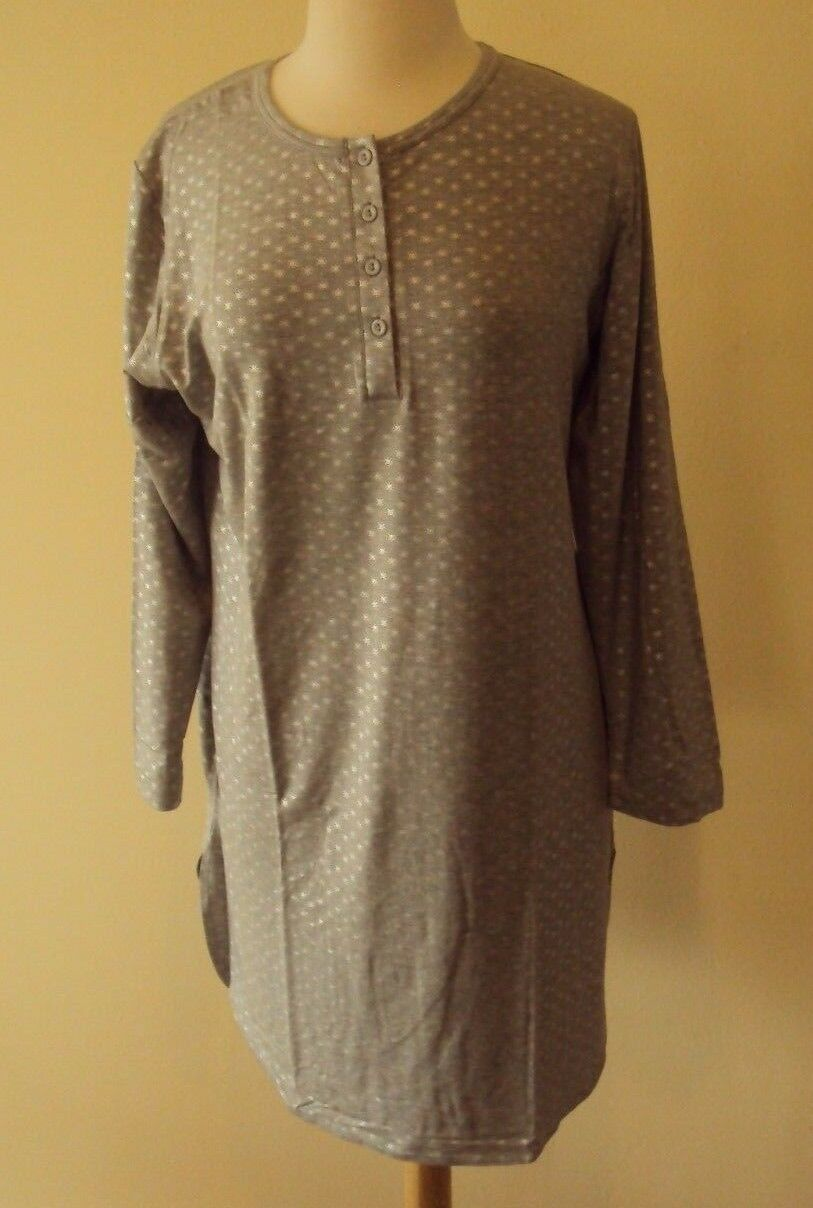 shadowline before bed 34 inch long sleeve sleepshirt style 65223 1x 3x