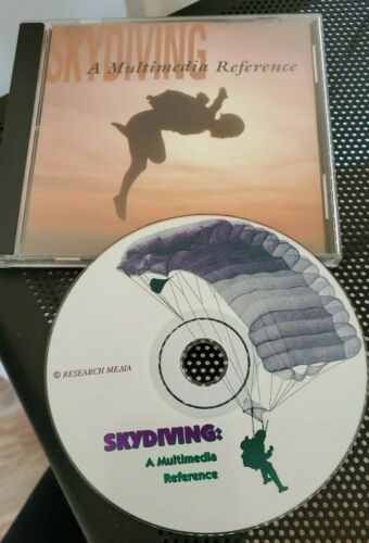 Vintage 1996 Skydiving CD-ROM (Windows 95)  Research Media