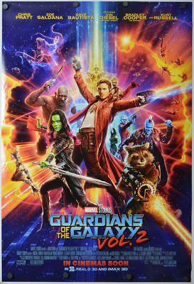 Guardians of the Galaxy 2 - original DS movie poster D/S 27x40 - FINAL INTL