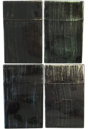 Eclipse Woodgrain Hard Plastic Crushproof Cigarette Case, 100s, 2ct, 3115W