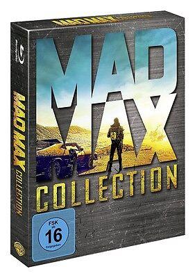 Mad Max - Collection Blu-ray Box - (Teil 1+2+3+4 Fury Road) (1-4) - NEU OVP