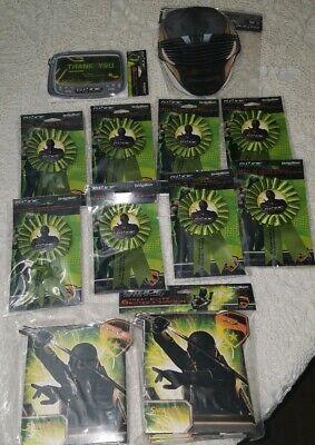 Lot of New GI JOE Rise of Cobra Birthday Party Supplies Favors Party for 8 - Gi Joe Party Supplies