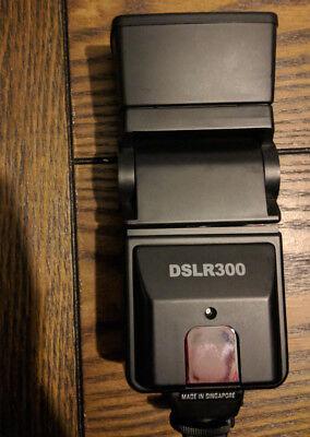 Precision Design DSLR300 Auto Flash Kit for Nikon D3200 D3100 D5100 D7000 - Precision Camera Flash