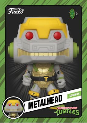 Funko Teenage Mutant Ninja Turtles TMNT - METALHEAD - Digital NFT Mint #362