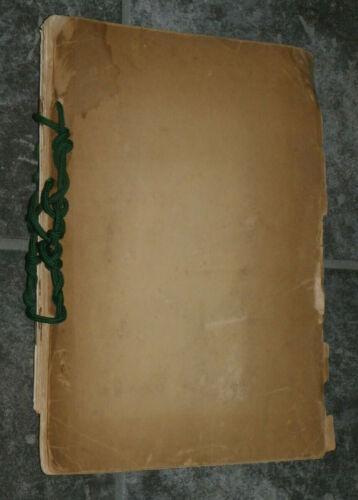 WWI Era Typed Manuscript & 4 Printed Booklets-US Food Admin-Wilson Procs-1917-18