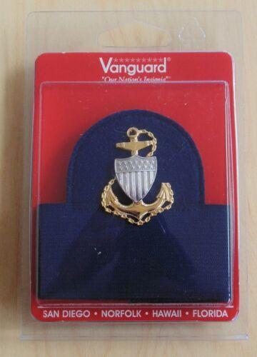 USCG US COAST GUARD CPO CHIEF PETTY OFFICER COMBINATION CAP BADGE HAT BAND SET