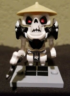 Lego Ninjago Skeleton Army Warrior Minifigure Wyplash From Sets 2509 2506 Mini