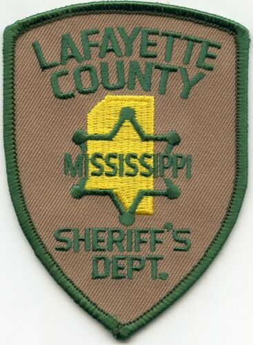 LAFAYETTE COUNTY MISSISSIPPI MS SHERIFF POLICE PATCH