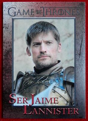 GAME OF THRONES - Season 6 - Card #32 - SER JAIME LANNISTER - Rittenhouse - 2017
