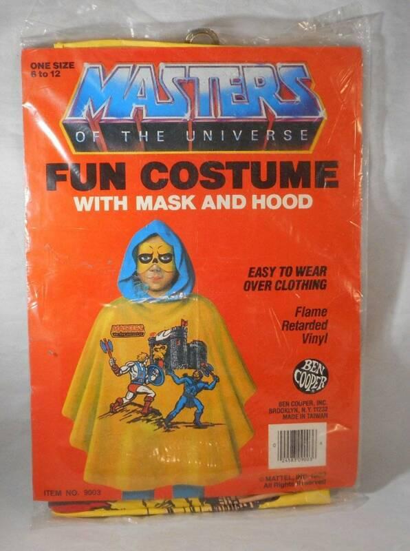 Vintage 1983 He-Man MOTU Ben Cooper Fun Costume MIP Masters of the Universe