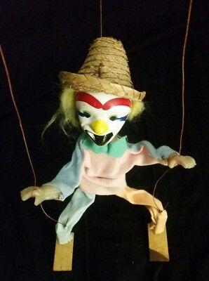Mexican Marionette Clown Puppet Vintage