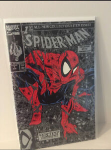Spider-man  #1 - Torment by Todd McFarlane - Silver Cover