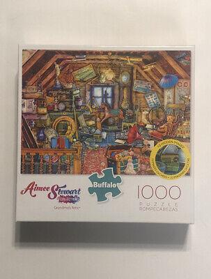 Buffalo Games 1000 Piece Jigsaw Puzzle Aimee Stewart Grandmas Attic