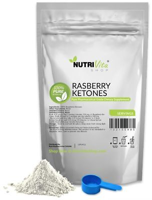 250g (8.8oz) 100% PURE RASPBERRY KETONES WEIGHT LOSS KETONE POWDER USP