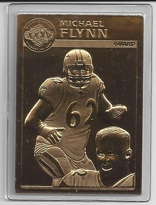 Michael Flynn Danbury Mint Ravens Super Bowl Xxxv 22Kt Gold Limited Edition Cd