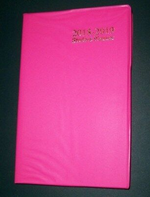 2019 Weekly Agenda 18 Month 4x7 Hot Pink Planner Student Calendar W Cover