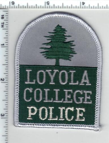 Loyola College Police (Maryland) - Shoulder Patch - new from the Early 1080