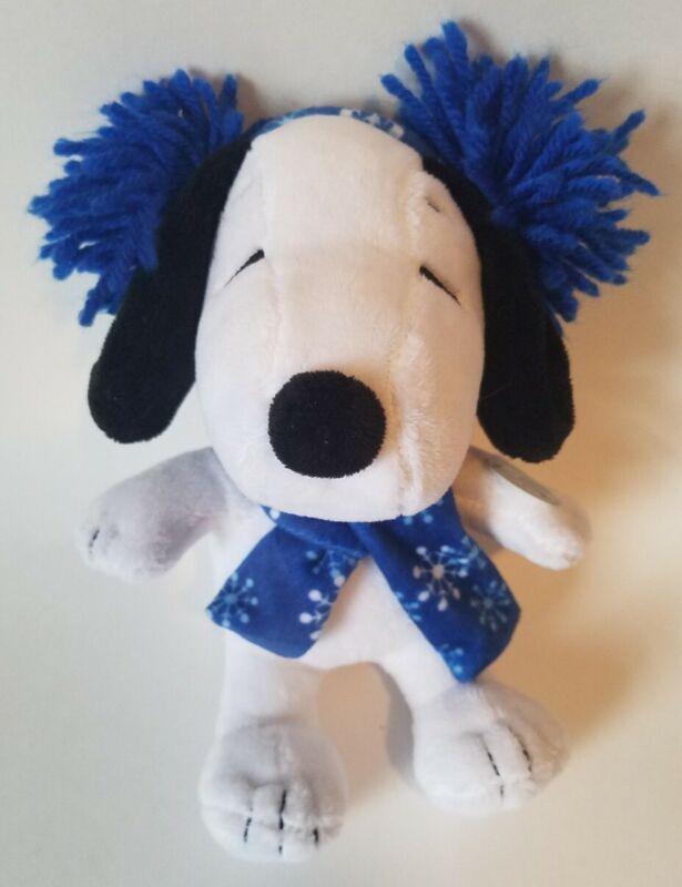 Peanuts Snoopy Plush Musical Stuffed Animal With Scarf And Earmuffs