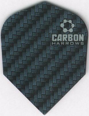 Blue Carbon Dart Flights  3 Per Set