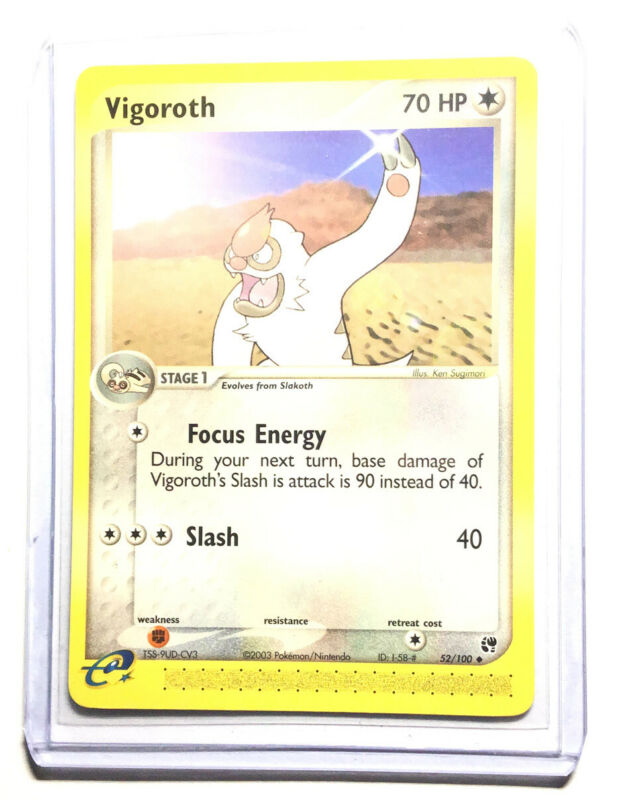 Carte Pokemon VIGOROTH 114//168 REVERSE Soleil et Lune 7 SL7 FR NEUF