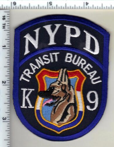 Police Transit Bureau K-9 Shoulder Patch