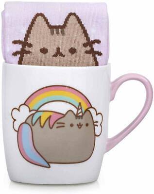 Official Pusheen the Cat Unicorn Mug and Sock Set Cup Pusheenicorn