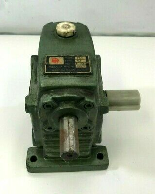 Hangzhou Hand Motor Reducer Worm Gearbox Transmission Fcs Type 60 130