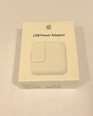 Original OEM Apple 12W USB Power Adapter Wall Charger for iPad 2 3 4 Air