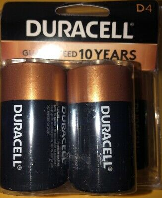 Duracell® Coppertop Alkaline D Batteries, Pack of 4 Batteries for sale  Lenoir