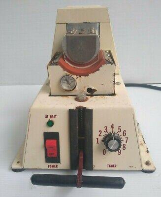 Vintage Heat Press Machine Heat Transfer Machine Vintage For Hat And Mug As Is