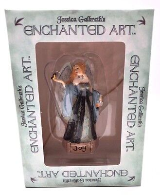 Jessica Galbreth Enchanted Art Fairies JOY Figurine  Add an Accent 2006 NIB  gb