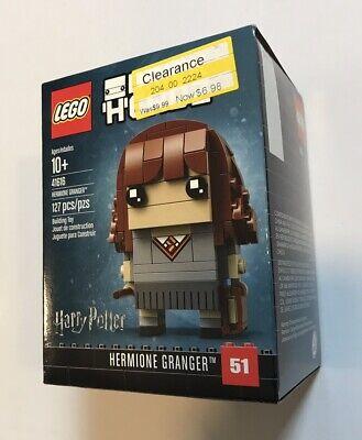 LEGO Harry Potter Brickheadz 41616 Hermione Granger NEW Brick Headz 51