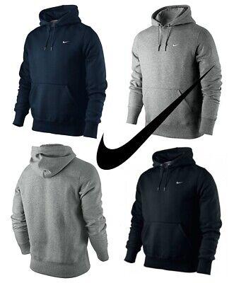 Nike Mens Hoodies Hoody Hoodie Classic Fleece Hooded Sweatshirt Pullover