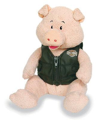 "HARLEY-DAVIDSON Bike Club - Pig ""Torque"" Bean Bag Toy Stuffed Animal"